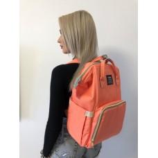 Рюкзак для мамы Персиковый
