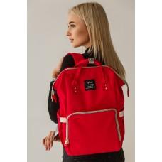 Рюкзак для мам - красный
